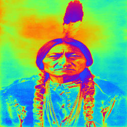 Sitting Bull, Digital Art / Computer Art, Commercial Design,Impressionism,Romanticism, Figurative, Digital, By Matthew Lacey
