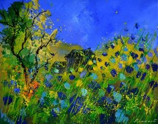 spring 5451, Paintings, Impressionism, Landscape, Canvas, By Pol Ledent