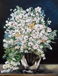 Spring Bouquet, Paintings, Expressionism,Fine Art,Impressionism, Still Life, Acrylic, By Graciela Castro