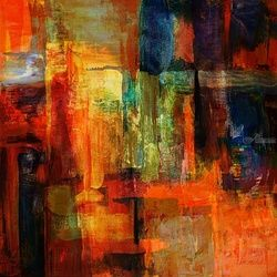 Stations *2, Paintings, Fine Art, Still Life, Canvas, By Bashir Hajji