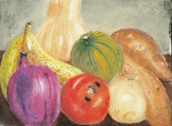 Still life in Kitchen, Pastel, Realism, Still Life, Pastel, By Nick Mitchell