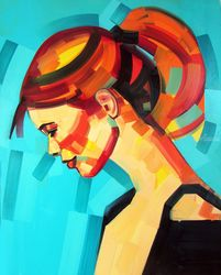 StyleVolution, Paintings, Expressionism,Pop Art, Figurative,Portrait, Canvas,Mixed,Oil, By Piotr Kachny