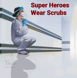 Super Heroes Wear Scrubs 1, Digital Art / Computer Art, Realism, Documentary, Digital, By Marty Jones