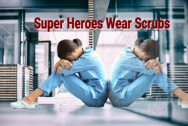 Super Heroes Wear Scrubs 2, Digital Art / Computer Art,Illustration, Realism, Documentary, Digital, By Marty Jones