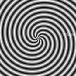 Swirl in Black and White, Decorative Arts,Digital Art / Computer Art, Abstract, Decorative,Moving Images, Digital, By Colin Forrest