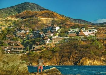 Taganga Town Landscape,<br>Colombia, Photography, Realism, Landscape, Photography: Photographic Print, By Daniel Ferreira Leites