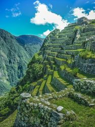 Terraces of Macchu Pichu City,<br>Cusco - Peru, Photography, Photorealism, Documentary, Photography: Photographic Print, By Daniel Ferreira Leites