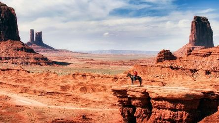 The Cowboy, Photography, Photorealism, Land Art,Landscape, Photography: Premium Print, By Mike DeCesare