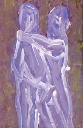 The Monogrammist M.M., Paintings, Abstract, Figurative, Gouache, By Igor Trofimov