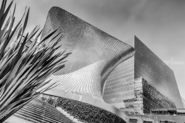 The Museo Soumaya, Photography,Printmaking, Expressionism,Impressionism,Minimalism,Modernism,Realism,Romanticism, 3-D,Architecture,Cityscape,Composition,Conceptual,Historical, Photography: Photographic Print,Photography: Premium Print,Photography: Stretched Canvas Print, By Christopher Adach