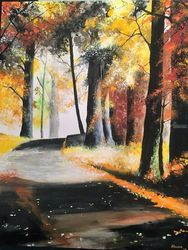 The Road to Perdition, Paintings, Impressionism, Landscape, Watercolor, By Stephen Keller