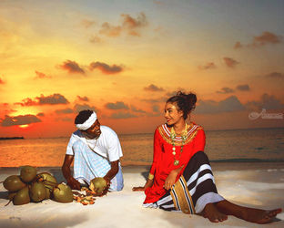 Traditional Dress,maldives