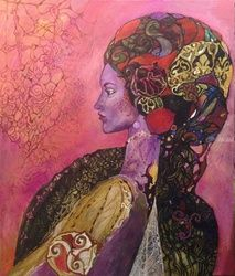 triskele, Paintings, Fine Art,Romanticism, Fantasy, Canvas, By olga zelinska