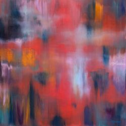 Twilight, Paintings, Abstract,Fine Art,Modernism, Fantasy, Canvas,Oil, By Ivan Klymenko