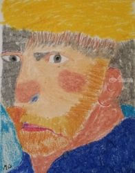 Van Gogh, Paintings, Impressionism, Portrait, Oil, By MD Meiser