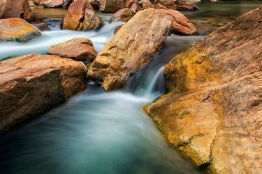 Virgin River, Photography, Fine Art,Photorealism, Landscape,Nature, Photography: Premium Print, By Mike DeCesare
