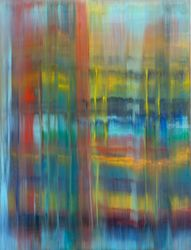 Warm rain, Paintings, Abstract,Fine Art,Modernism, Fantasy, Canvas,Oil, By Ivan Klymenko