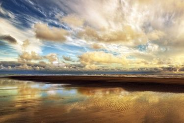 Washington Seascape, Photography, Photorealism, Seascape, Photography: Premium Print, By Mike DeCesare