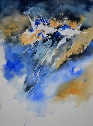 watercolor 511103, Paintings, Impressionism, Decorative, Watercolor, By Pol Ledent
