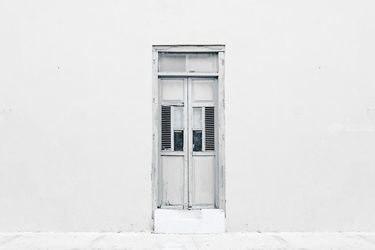 White doors, Photography,Printmaking, Expressionism,Impressionism,Minimalism,Modernism,Photorealism,Realism,Romanticism, Architecture,Avant-Garde,Cityscape,Conceptual, Photography: Photographic Print,Photography: Premium Print,Photography: Stretched Canvas Print, By Christopher Adach