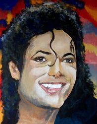 Who's a smooth Criminal, Paintings, Impressionism, Portrait, Acrylic, By broonzy williams
