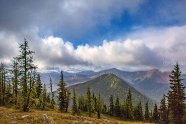 Windy Pass, Photography, Photorealism, Landscape, Photography: Premium Print, By Mike DeCesare