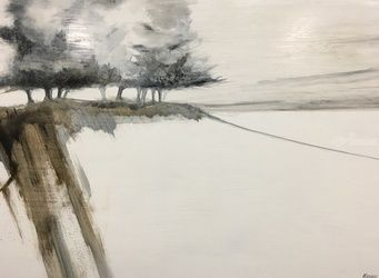 Wintertide's Impression, Paintings, Impressionism, Landscape, Oil, By Stephen Keller