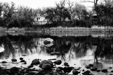 Wyoming River BW4, Photography, Fine Art, Landscape, Photography: Photographic Print, By Jim Stewart