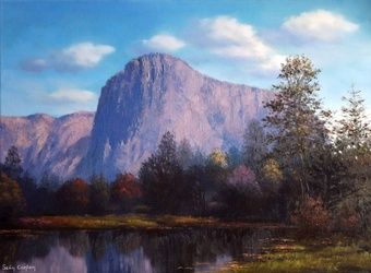 Yosemite Dreaming, Paintings, Fine Art, Landscape, Oil, By Sean Conlon