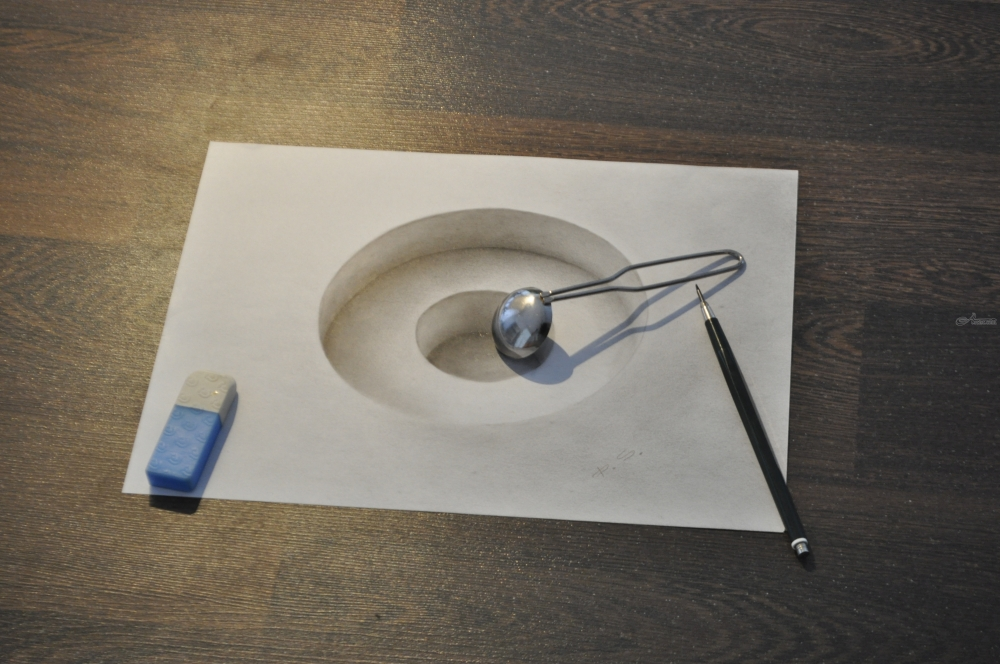 Drawings Sketch By Stefan Pabst Realism 3 D Created