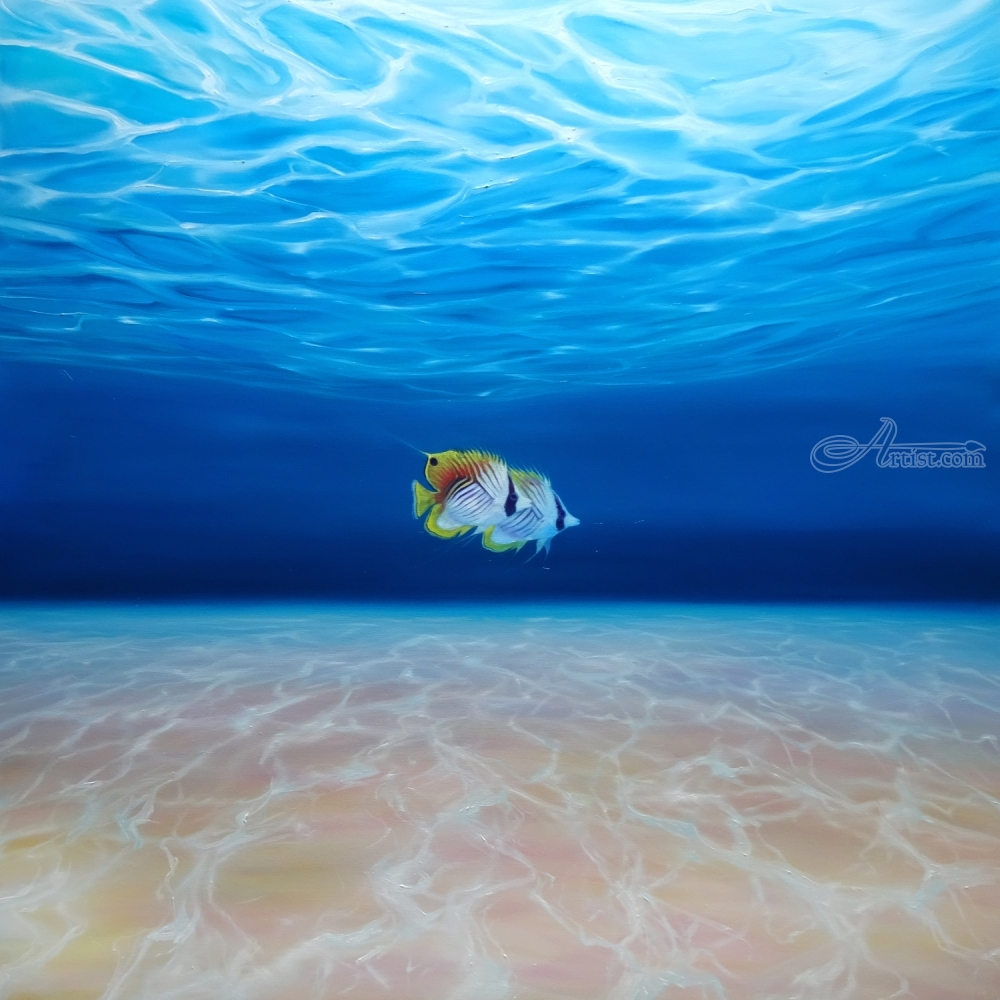 Free Under the Sea - a large underwater seascape with fish ...