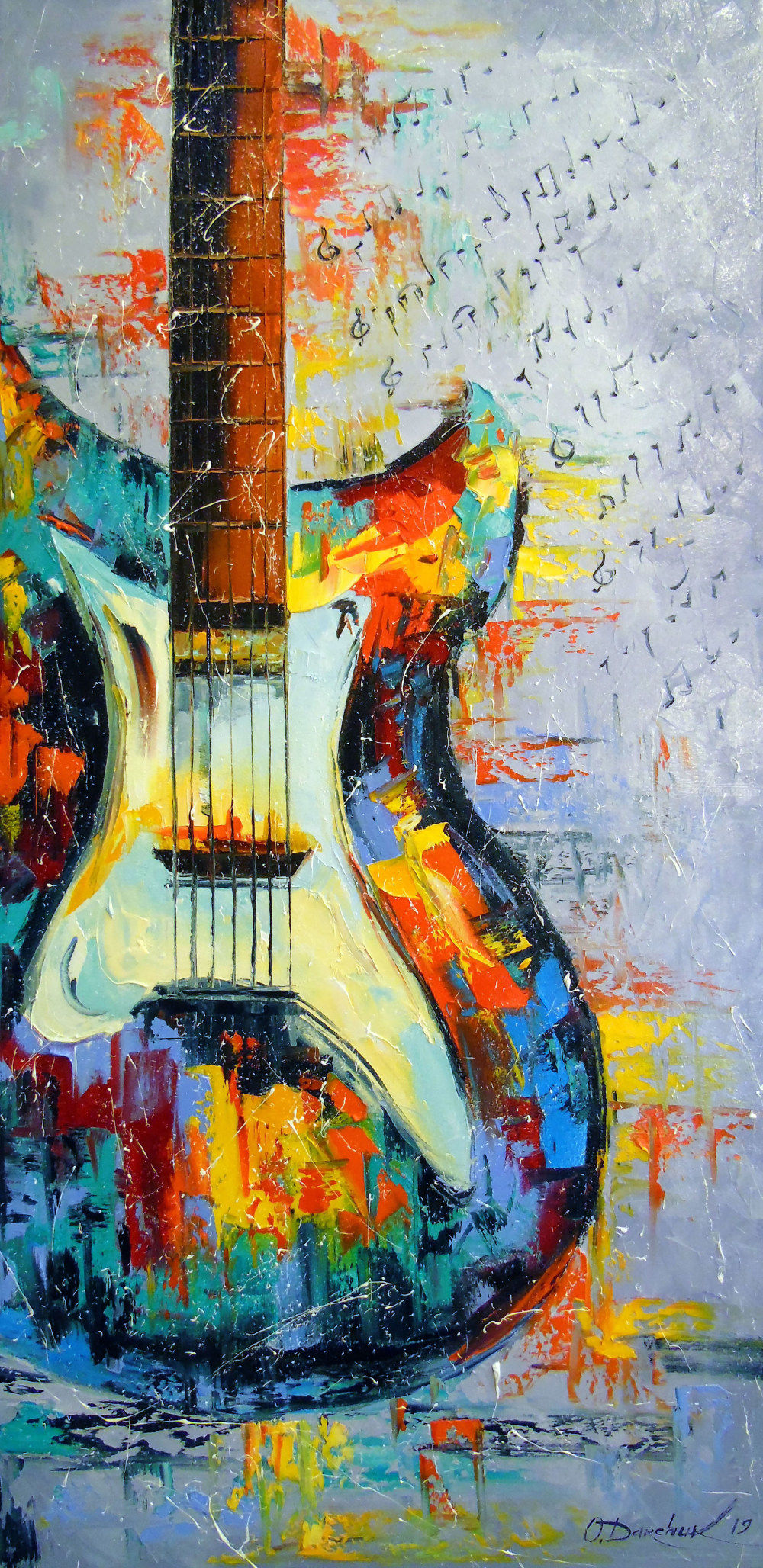 Guitar Paintings By Olha Darchuk Artist Com