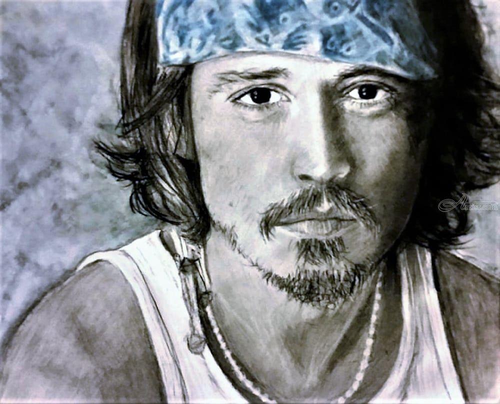 Johnny depp drawings sketch by paula soesbe artist com