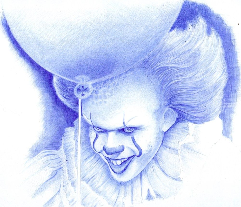 Pennywise The Dancing Clown Drawings Sketch By Oleg Kozelskiy Artist Com