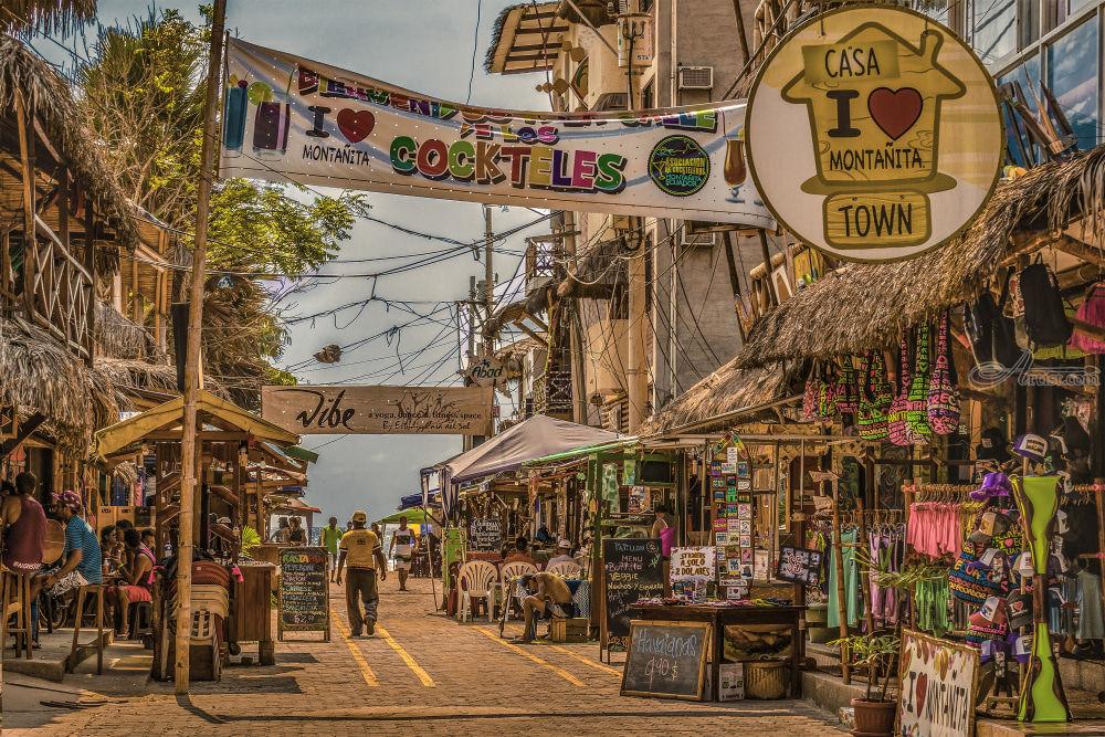 Street Of Montanita, Ecuador Photography by Daniel Ferreira Leites - Artist.com