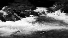 """Rapids in the winter"", Photography, Commercial Design, Landscape, Photography: Stretched Canvas Print, By Michael C Bertsch"