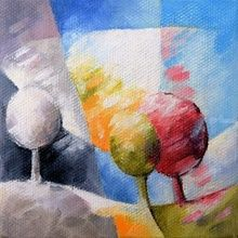 010 arbre, Paintings, Abstract,Fine Art, Figurative,Floral,Landscape, Canvas,Oil, By Beatrice BEDEUR