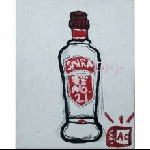 """70 Proof"", Paintings, Pop Art, Composition, Acrylic, By Adam Cook"