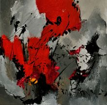 abstract 3341202, Paintings, Abstract, Decorative, Canvas, By Pol Ledent