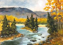 Aspens in Fall, , , , , By Sherry Robinson