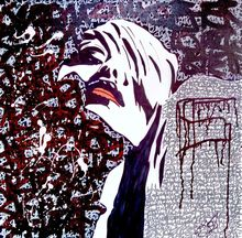 Emotion in graffiti, Paintings, Abstract,Pop Art,Street Art, People, Acrylic,Canvas, By Marco Stazzini