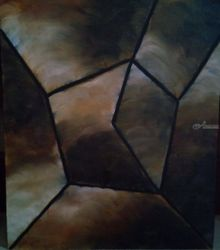 Escape, Paintings, Abstract,Fine Art, Conceptual, Canvas,Oil, By supreet gujral
