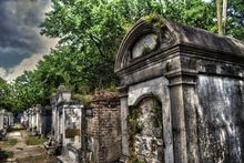 Layfayette Graveyard in New Orleans, Louisiana 2013, Digital Art / Computer Art, Fine Art, Architecture,Grotesque,Historical,Spiritual, Digital, By Timothy Lowry