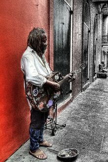 Lonely Street of Blues, Photography, Pop Art, Daily Life,Inspirational,Moving Images,Multicultural / Ethnic,Music,People,Performance Art,Spiritual, Digital, By Timothy Lowry