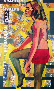 PictureShow, Paintings, Expressionism,Pop Art,Street Art, Figurative, Canvas,Mixed,Oil,Spray Paint, By Piotr Kachny
