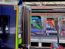 Portsmouth Harbour Train Station, Photography, Abstract,Impressionism,Pop Art, Conceptual,Daily Life,Machnine Forms,Moving Images,Window on the World, Photography: Photographic Print, By Michael Duke