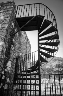 Spiral Staircase, Photography, Fine Art, Architecture, Digital, Photography: Metal Print, Photography: Photographic Print, Photography: Premium Print, Photography: Stretched Canvas Print, By Borja Robles