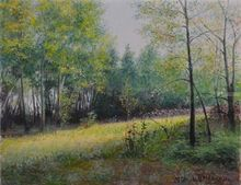 Sunny day, Paintings, Impressionism,Realism, Landscape, Canvas, By Ivan Ormanzhi