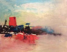 Untitled, Paintings, Abstract, Landscape, Acrylic, By Zahra Hooshyar