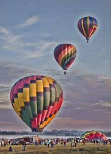 Up, Up and Away, Photography, Fine Art, Happenings, Photography: Photographic Print, By Carol Milazzo DiRenzo